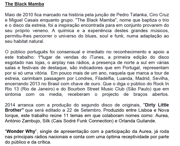 The Black Mamba Press Release(2)